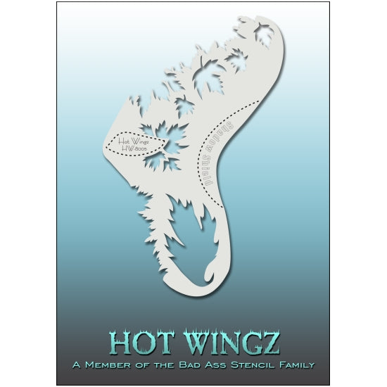 Hot Wingz - Glazed BadAss Stencils - Backstage Cosmetics Canada