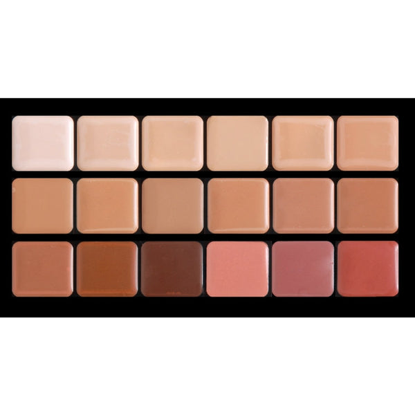 HD Glamour Creme Palette - Cool Graftobian - Backstage Cosmetics Canada