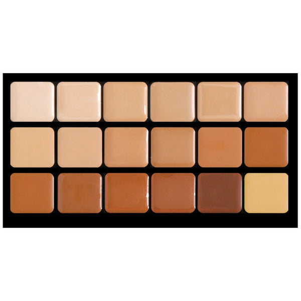 HD Glamour Creme Palette - Warm Graftobian - Backstage Cosmetics Canada
