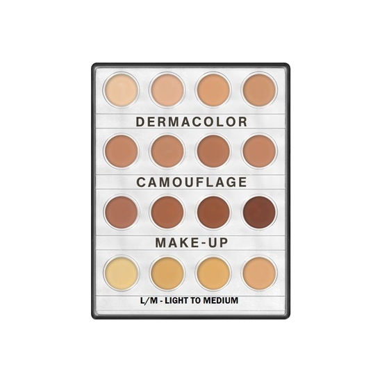 Dermacolor Camouflage Creme Mini Palette 16 Colors Kryolan - Backstage Cosmetics Canada