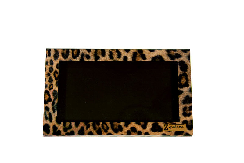 Large - Leopard Zpalette - Backstage Cosmetics Canada