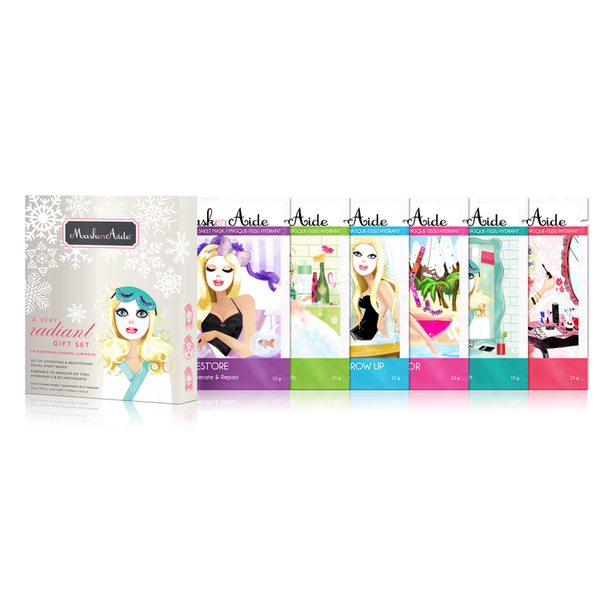 A Very Radiant Gift Set MaskerAide - Backstage Cosmetics Canada