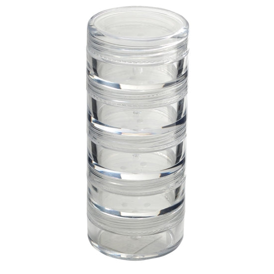 Stackable Powder Jars