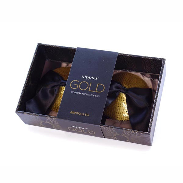 Nippies Gold Marilyn Gold Bristols Six - Backstage Cosmetics Canada