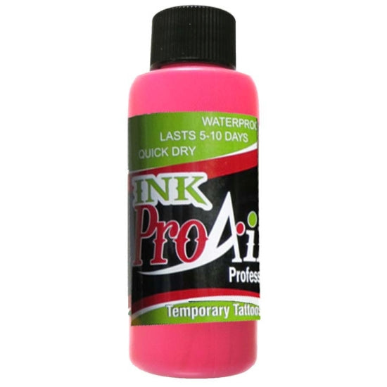 ProAiir Ink 4 oz - Temporary Tattoo Alcohol Base Showoffs Body Art - Backstage Cosmetics Canada
