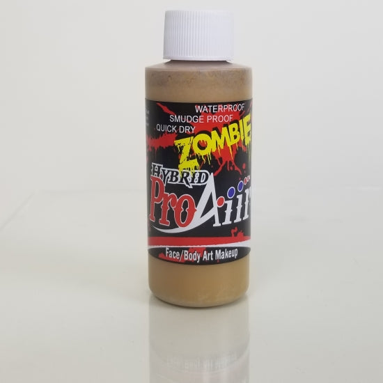 Zombie Colours 2 oz - ProAiir Hybrid Waterproof Makeup Showoffs Body Art - Backstage Cosmetics Canada