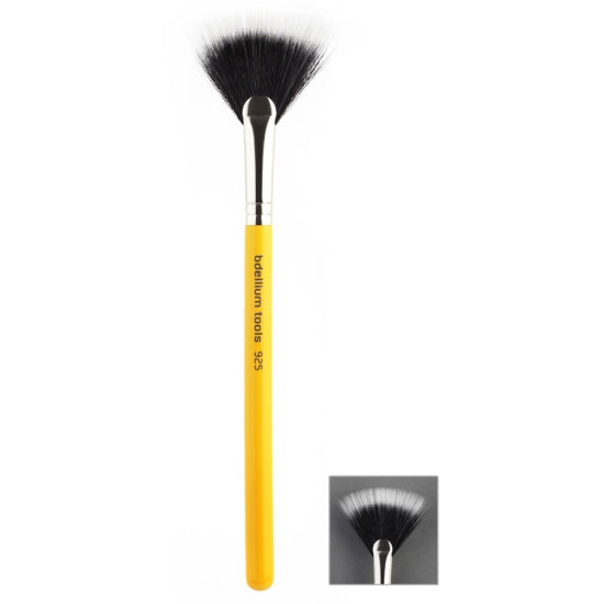 Studio 925 Duet Fiber Fan Bdellium Tools - Backstage Cosmetics Canada