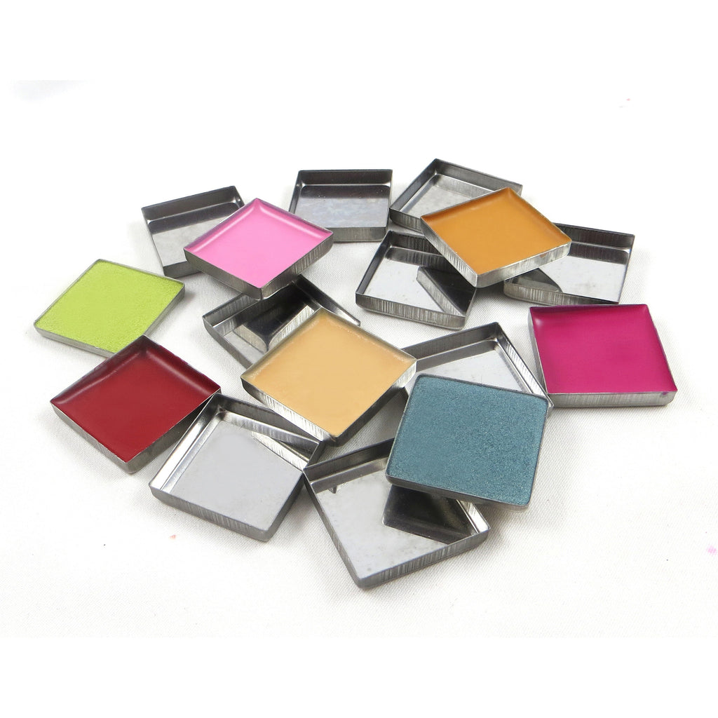 Empty Metal Pans - Square Zpalette - Backstage Cosmetics Canada