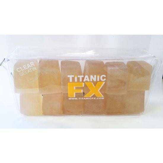 PROSTHETIC GELATIN - CLEAR (1kg) Titanic FX - Backstage Cosmetics Canada