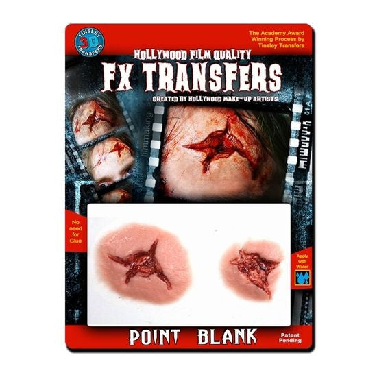 Point Blank - 3D FX Transfer Tinsley Transfers - Backstage Cosmetics Canada
