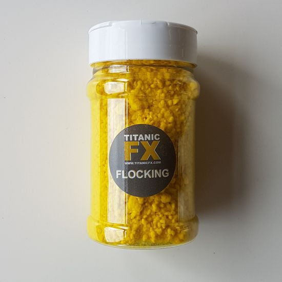 Flocking - Yellow Titanic FX - Backstage Cosmetics Canada