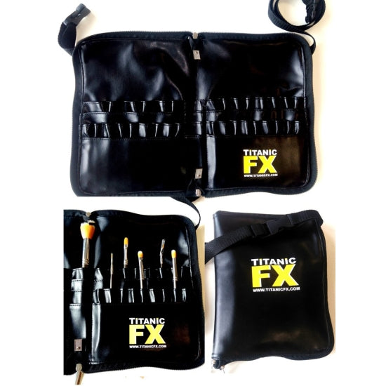 ZIP-UP PRO BRUSH BELT Titanic FX - Backstage Cosmetics Canada