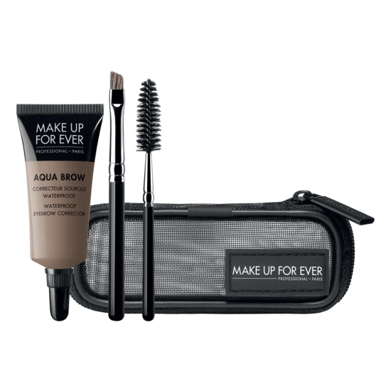 Aqua Brow Kit - Waterproof Eyebrow Corrector Kit MAKE UP FOR EVER - Backstage Cosmetics Canada