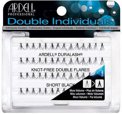 Individual - Knot-Free Double Flares Short Black Ardell - Backstage Cosmetics Canada