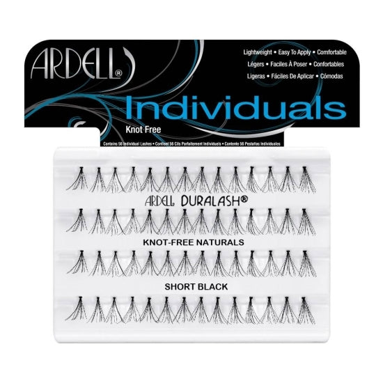 Individual - Knot-Free Naturals Short Black Ardell - Backstage Cosmetics Canada