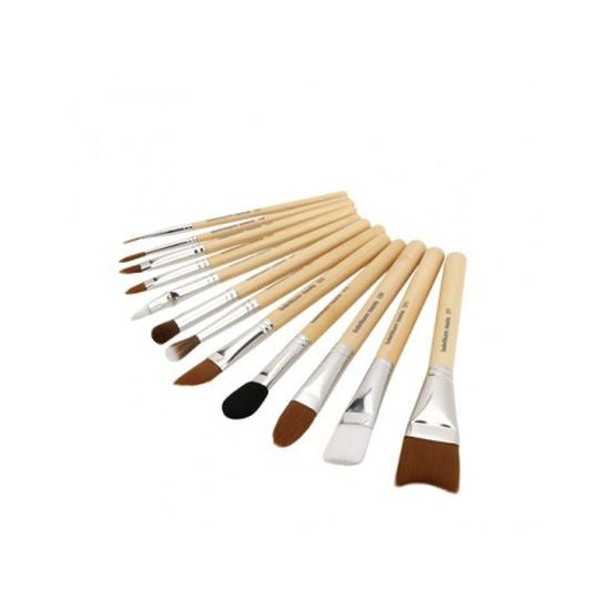SFX Brush Set 12 pc. with Double Pouch (2nd Collection) Bdellium Tools - Backstage Cosmetics Canada