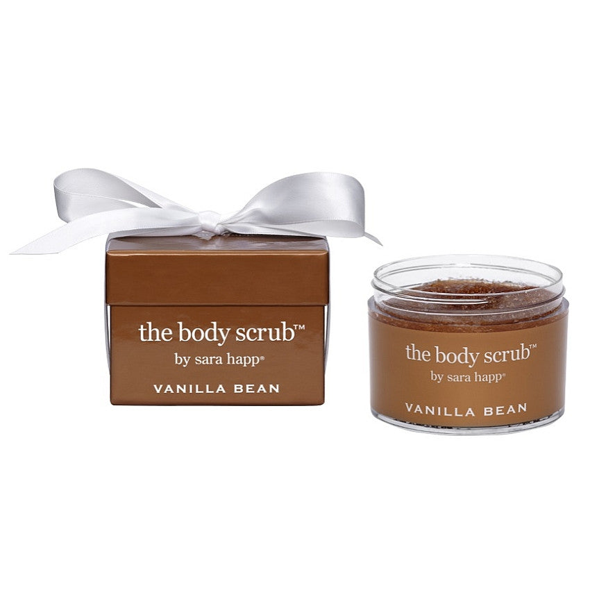 The Body Scrub - Vanilla Bean Sara Happ - Backstage Cosmetics Canada