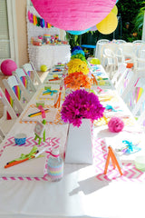Customized, beautiful, whimsical kids birthday parties at Bubble Belly Davis, CA