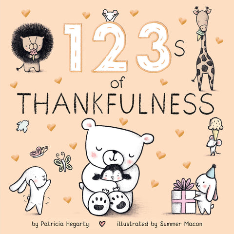 123s of Thankfulness Board Book