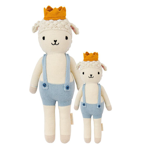 Cuddle+Kind Heirloom Hand-Knit Dolls, Sebastian the Lamb (two sizes available)