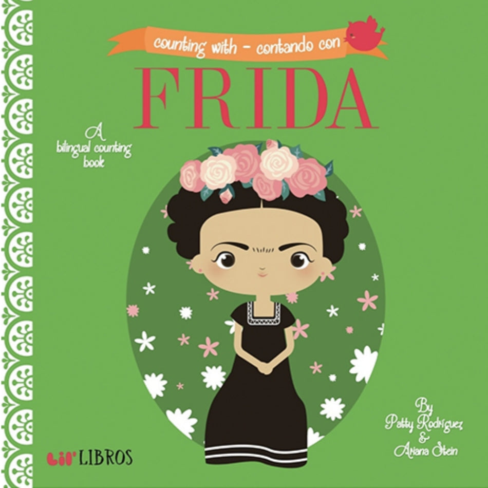 Baby Board Book - Bilingual Counting Book - Frida