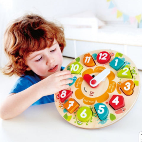Hape Germany - Chunky Clock Puzzle