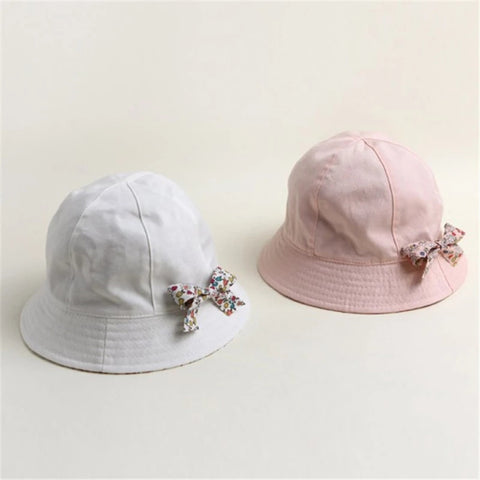 Hat, Baby Girl Bucket Sun Hat, Crushable & Reversible