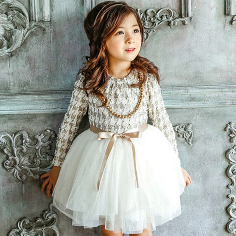 Livvy Houndstooth, Fleece Lined Hi Collar Tutu - Winter White