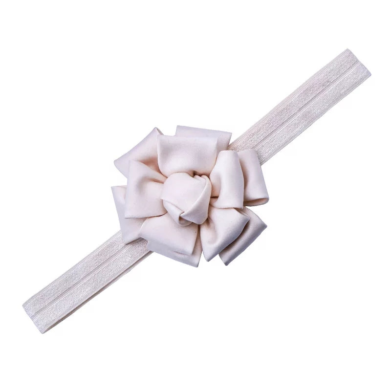 ivory silk handmade now headband