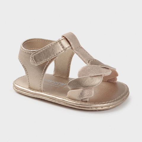 9406 Mayoral Baby Girls Beige Sandals