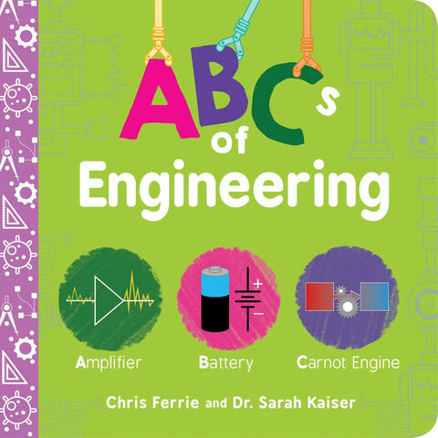 Board Book, ABCs of Engineering, STEM Books, Early Learning