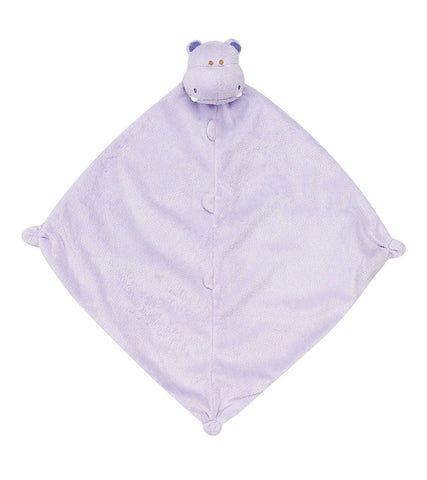 "Angel Dear 13"" Blankie Lovie, Security Blanket - Purple Hippo"