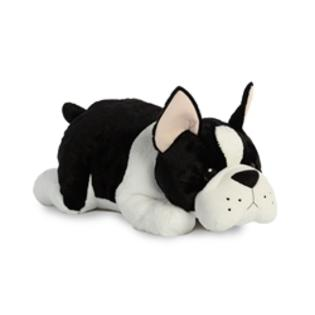 "Aurora XL 25"" Boston Terrier Plush Buddy, Cocoa"