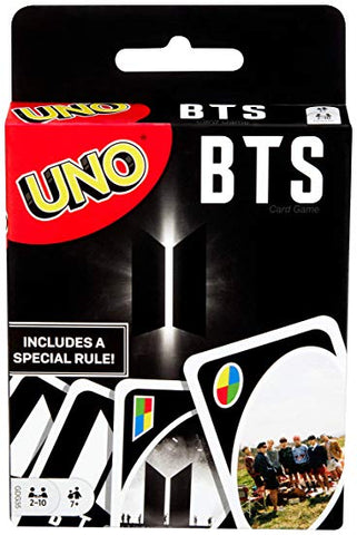 BTS Bangtan Boys Kpop Uno Playing Cards