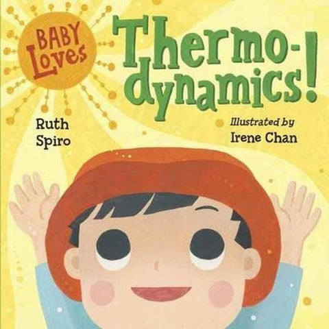 Book, Baby Loves Thermodynamics, STEM Books, Early Learning