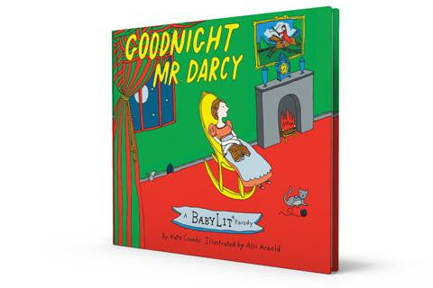 BabyLit Goodnight Mr Darcy - Pride & Prejudice & Goodnight Moon Parody