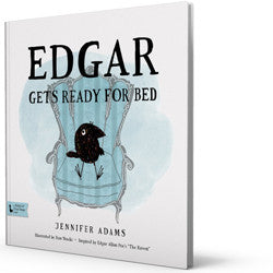 BabyLit Classic Literature for Babies - Edgar Gets Ready for Bed