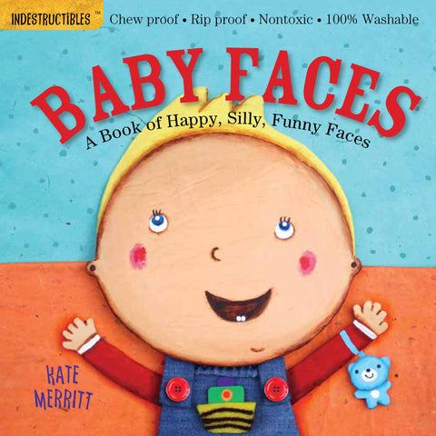 Baby Book - Indestructibles, Washable Book - Baby Faces
