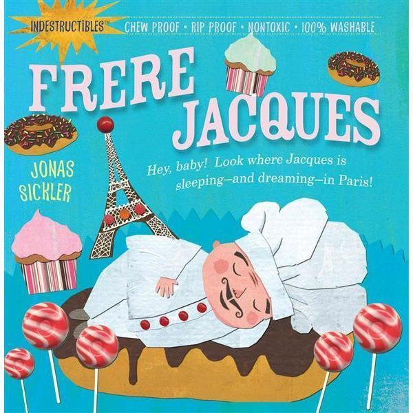 Frere Jacque indestructible baby book, soft cover, washable book