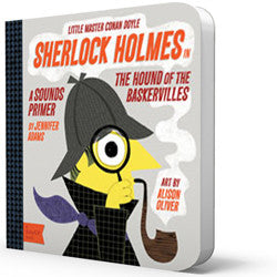 BabyLit Classic Literature for Babies - Sherlock Holmes