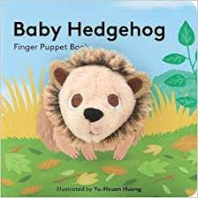 Baby Board Book - Baby Hedgehog Finger Puppet Book