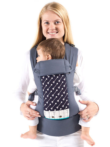 Beco Gemini 4-in-1 Baby Carrier - Infant/Toddler Carrier - Arrows