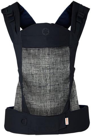 Beco Gemini 4-in-1 Baby Carrier - Infant/Toddler Carrier - Scribble Black