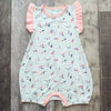Baby Matching Romper, Spring Bloom Onepiece Soft Lux Modal Eco-Friendly