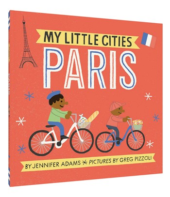 Board Book - My Little Cities - Paris