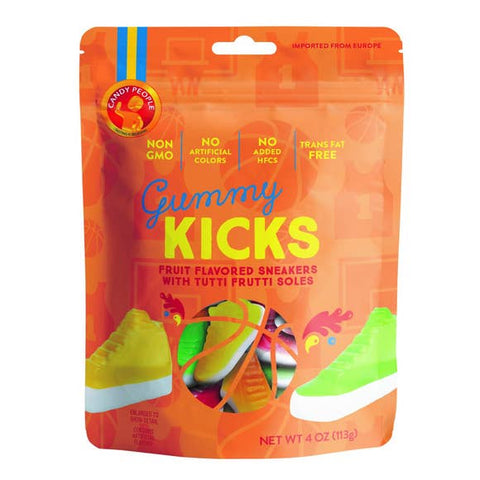 European Gummies, Swedish Candy, Non-GMO Fruit Sneakers