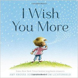 Children's Book - I Wish You More