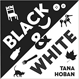 Book for Babies - Black & White Accordion Book