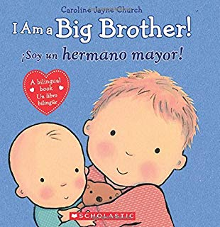 Book - I am a Big Brother - Bilingual Spanish & English