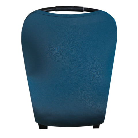 Copper Pearl Lux Stretchy 5-in-1 Multi-Use Cover, Steel Blue